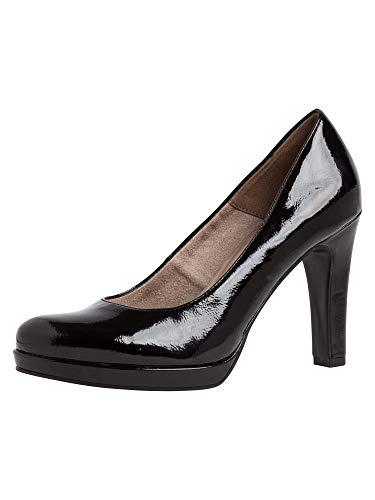 Tamaris 1-1-22426-24, Zapatos de Tacón Mujer, Negro (Black Patent 018), 39 EU