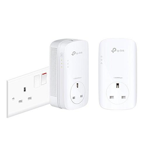 TP-LINK TL-PA8010P KIT V2 Collegamento ethernet LAN Bianco 2pezzo(i) adattatore di rete powerline