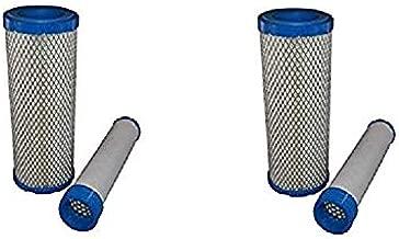 zon (2 Sets) Lawn Mower Air Filter Fits Kohler 2508301s 2508304 Kawasaki 11013-7020 7019