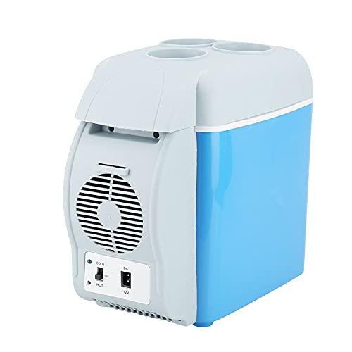 Ranvo Mini Frigorifero da 7,5 Litri, Congelatore Portatile per Auto, Frigorifero Multifunzionale per Bevande Piccolo Frigorifero per Birra Frigorifero Compatto da Viaggio con Lunga Durata