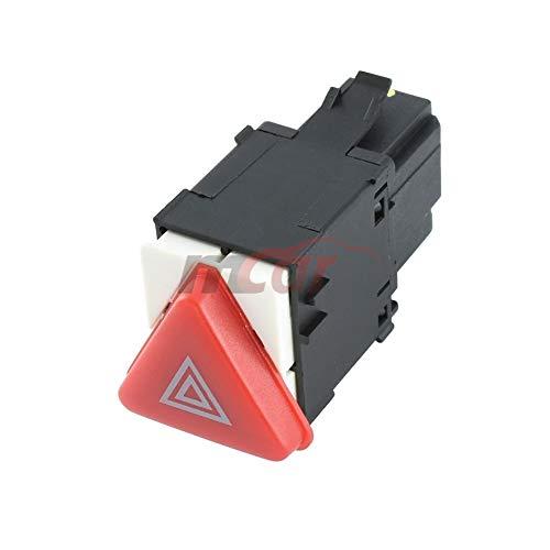 RTP Botón Interruptor de Luces de Emergencia (WARNINGS) de 4 Pines para Volkswagen Transporter T5 - Skoda Fabia I