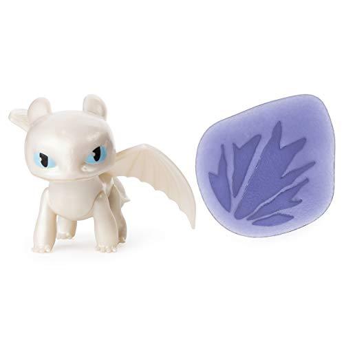 Entrenando A Tu Dragon como Entrenar a tu Dragón Mini Dragones Furia Luminosa Toy