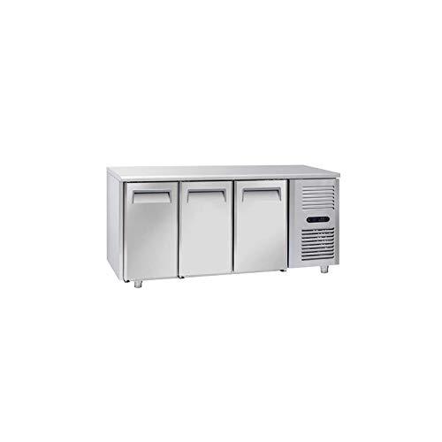 Table Réfrigérée Négative 3 Portes GN 1/1 - Profondeur 700 - Cool Head - 700