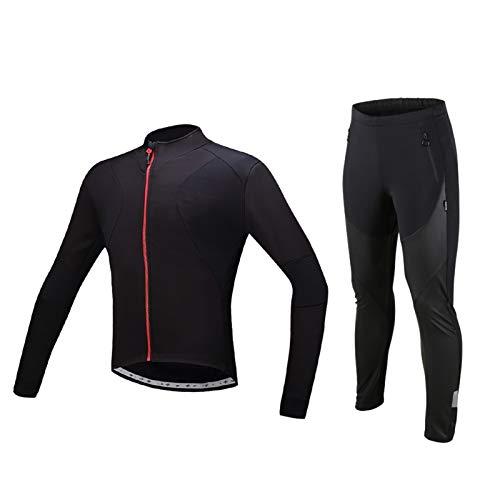 Uomini Inverno Ciclismo Tute Ciclismo Set Sportswear Ciclismo Giacche * 4* (Colore: Asiatico taglia D, Taglia : XX-large)
