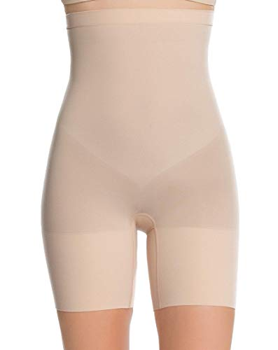 SPANX Higher Power Shorts Soft Nude Large