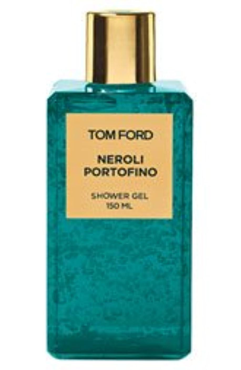 囲い出席踏み台Tom Ford Private Blend 'Neroli Portofino' (トムフォード プライベートブレンド ネロリポートフィーノ) 5.0 oz (150ml) Shower Gel for Unisex
