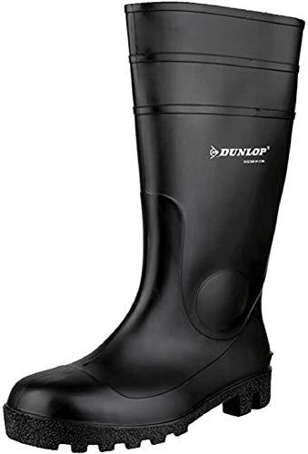 Dunlop Mens Fs1600/142Pp Wellington Boots Black Size 8