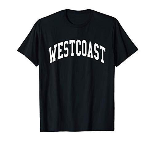 West Coast Westside Los Angeles Cali Hip Hop Maglietta
