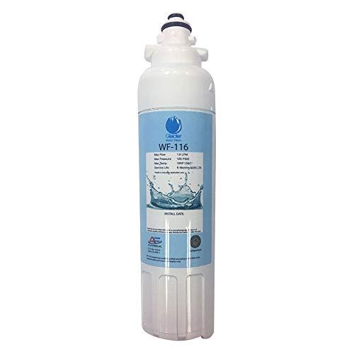 Replacement LG ADQ73613401 Refrigerator Water Filter - Compatible LG LT800P, ADQ73613401 Fridge Water Filter Cartridge
