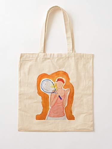 Sharapova Maria Tennis   Einkaufstaschen aus Segeltuch mit Griffen, Einkaufstaschen aus nachhaltiger Baumwolle