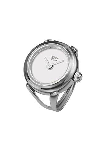 Davis - Ring Watch 4181 – Ringuhr Damen - Ziffernblatt Weib - Verstellbar