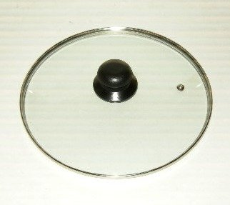 M.V. Trading Tempered Glass Lid, Cookware Glass Lid, 34cm (13.3858-Inches Inner Edge to Edge)