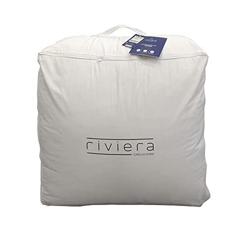Four Season Riviera - Cubrecolchón para cama de matrimonio (160 x 200 cm)