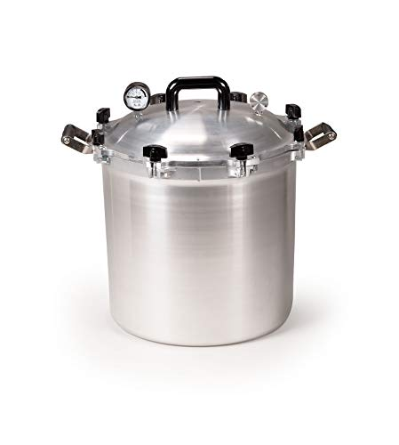 Best Overall:All American 41.5 Quart Canner Pressure Cooker