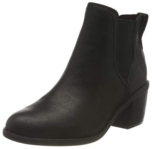 Timberland Damen Brynlee Park Chelsea Stiefel, Schwarz Black Full Grain, 39.5 EU