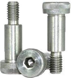 3//8-5//16-18 x 2 Coarse Thread Socket Shoulder Screw Nylon Pellet Alloy Steel Black Oxide Pk 25