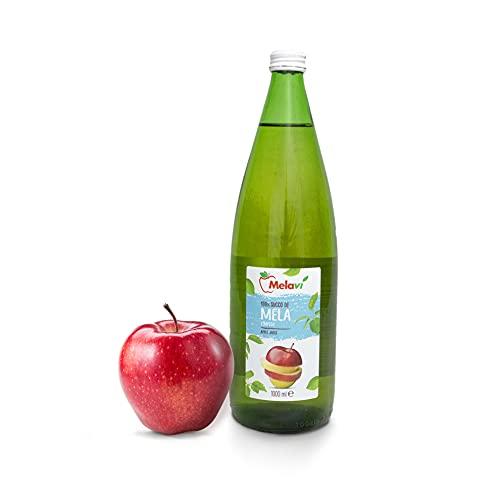 Succo Di Mele Limpido 1L- 4 unita'- Mele in bottiglia- 100% Made In Italy
