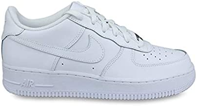 Nike Unisex Air Force 1 LE (GS) Sneaker, Kids, White/White, 6.5Y M US
