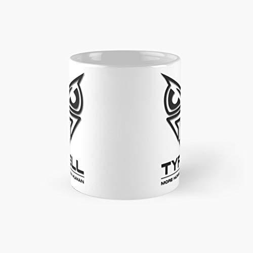 Blade Runner - Taza clásica con logotipo de Tyrell Corporation | Mejor regalo divertido tazas de café 12 oz
