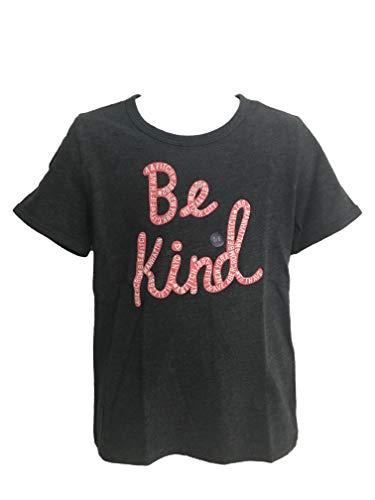 Abercrombie Kids Girl T-Shirt Manica Corta (Grigio, 9-10 Anni 135-142cm)