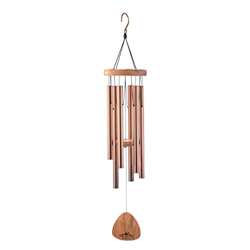 """UpBlend Outdoors Wind Chimes for People who Like Their Neighbors 2 - an Amazing Addition to a Patio, Porch, Garden, or Backyard - 29"""" Total Length."""
