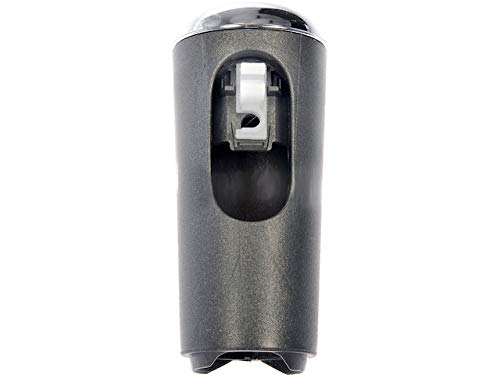 Automatic Transmission Shift Lever Knob - Dark Gray and Chrome - Compatible with 2007-2008 Ford F-150