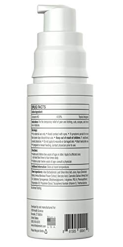 Syren Intimate Relief | Best Soothing Moisturizer Gel for Vaginal Pain, Itch and Dryness | Potent Topical Treatment for Women with Vulva Pain and Vulvodynia | Now with Child Resistant Lock