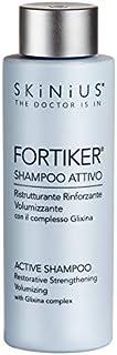 Skinius - FORTIKER Shampoo Attivo, Ristrutturante, Rinforzante e Volumizzante per Capelli Sani e Lucenti, 200 ml