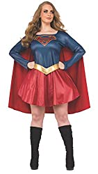 Supergirl Costume For Larger Size Women