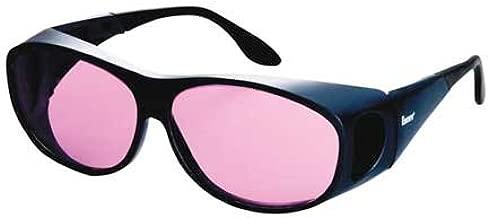 Laser Glasses, Light Magenta, Uncoated