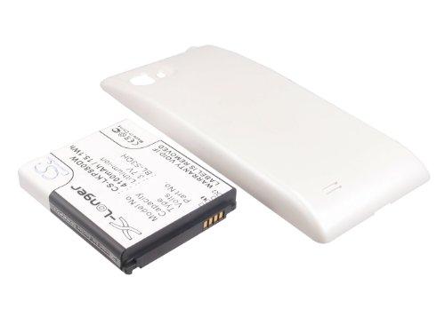 Batteria CS 4100 mAh per LG P880, Optimus 4X HD per BL-53QH con custodia