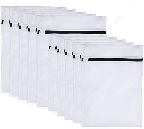 Bolsa de lavadora, bolsa de lavandería con cremallera de alta calidad, para lavadora, muy adecuada para ropa interior delicada, sujetadores y zapatos, bolsa de lavandería de alta calidad, 10 juegos