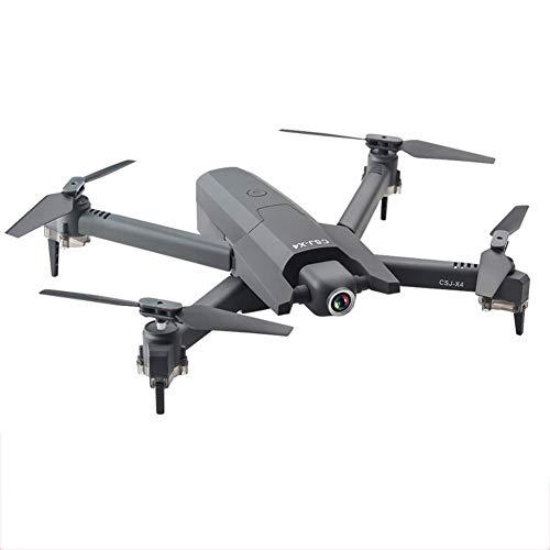 Erwachsene Drohne, mit 4k UHD Wifi Camera Anti-Shake, Sprachsteuerhöhe Halten, Folgen Sie mir und der automatischen Rücklauffunktion, geeignet for Anfänger schwarz 4k jianyou ( Color : Black 720P )