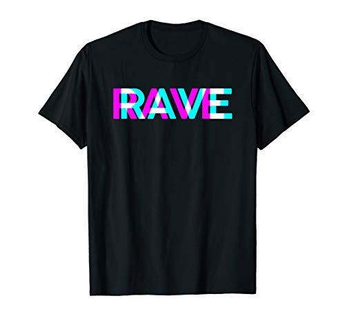 RAVE Raver DJ Festival Bass Techno Trance Goa T-Shirt