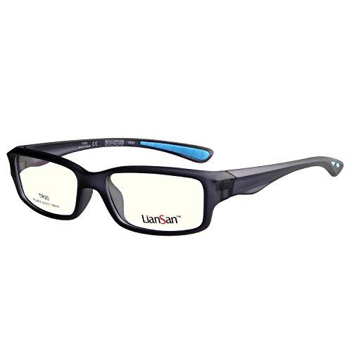 LianSan Fashion Brand Anti-Blue Light Occhiali Designer Leggero Tr90 Unisex Occhiali Occhiali da vista Full Frame Occhiali per Uomini Donne Spettacolo Ottico Eye-wear Sport Occhiali Montature