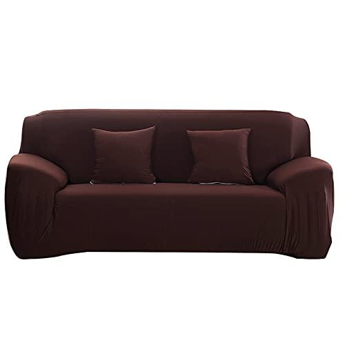 WXQY Fundas Antideslizantes elásticas de Color sólido Funda de sofá Antideslizante para Mascotas Funda de sofá para Mascotas Esquina en Forma de L Funda de sofá Antideslizante A6 2 plazas