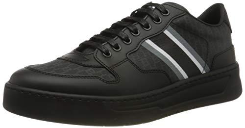 BOSS Herren Baltimore_Tenn_puhb Sneaker, Black1, 44