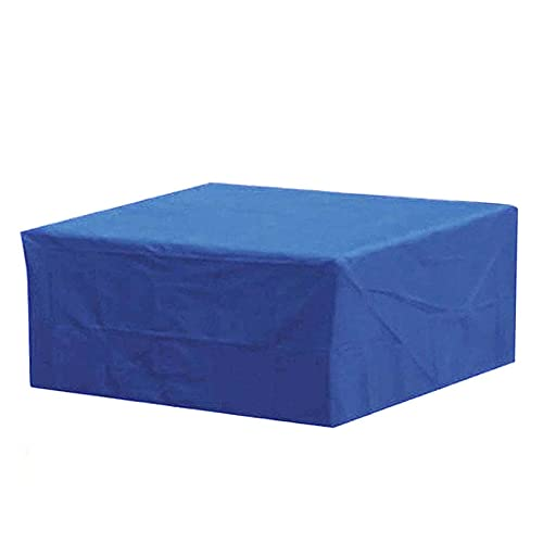 WZDD 270x180x89cm Impermeable Funda Protectora para Muebles De Jardin Rectangular, Funda para Mesa De Jardin Y Sillas, Funda para Muebles De Exterior, Cubierta De Mesa Patio