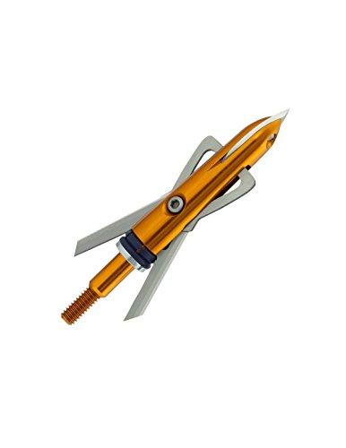RAGE Outdoors X-Treme Crossbow Broadhead (3-Pack), 100-Grain, Orange (52000)