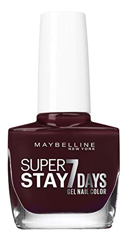 Maybelline New York Super Stay 7 Days Nagellack 923 Ruby Threads, 49 g