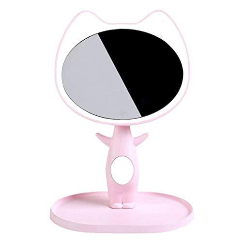 JYDQM Espejo de Maquillaje Lámpara de Mesa Lámpara de Espejo de tocador Decorativo - Interruptor táctil - LED Regulable