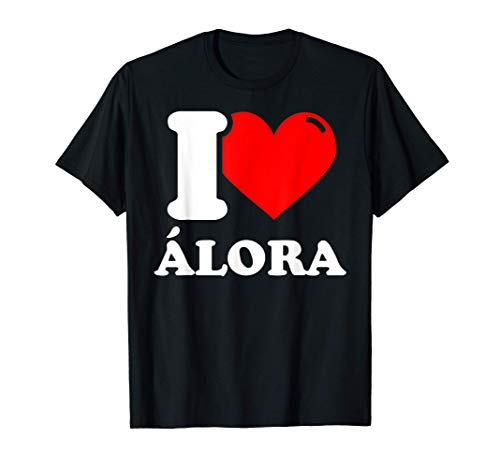 I love Álora Camiseta