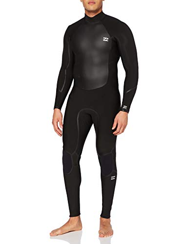 NA PALI SAS, Hossegor - BILLABONG Herren Absolute 4/3mm GBS-Back-Zip-Neoprenanzug für Männer, Black, S