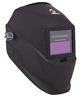 Miller Electric Auto Darkening Welding Helmet Black Classic 3 8-12 Lens Shade - 251292