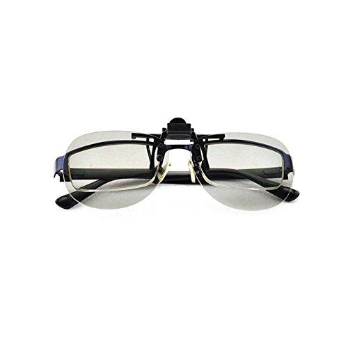 Clip-up zirkular polarisierte Brille für Reald Kino und Volfni Kino-System oder für passive 3D-TV