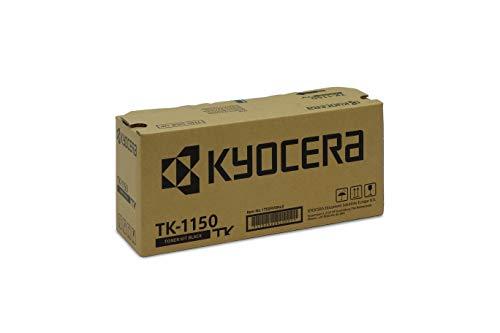 Kyocera TK-1150 Original Toner-Kartusche Schwarz 1T02RV0NL0. Kompatibel für ECOSYS M2135dn, ECOSYS M2635dn, ECOSYS M2735dw, ECOSYS P2235dn, ECOSYS P2235dw