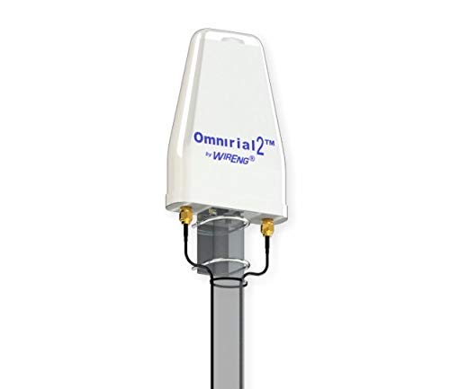 Omnirial2 True MIMO ±45° Antenna for Bluegrass Cellular Treswave Tresmate 4G Router Dual Omni