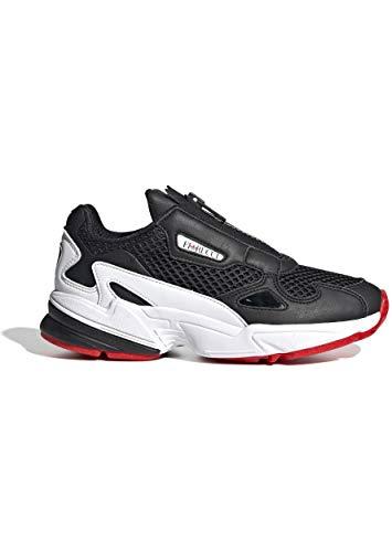 adidas Falcon Zip W Training Damen Gr.6½, Schwarz
