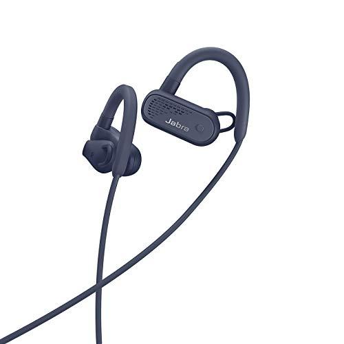 Jabra Elite Active 45e – Wassergeschützte Bluetooth Sport Kopfhörer zum kabellosen Telefonieren und Musik hören – Marineblau