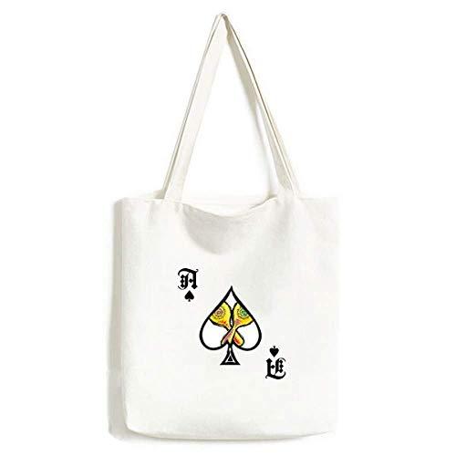 Mexicon - Bolsa para Pala de póquer (Lavable), diseño de ilustración de Elementos culturales, Color Amarillo